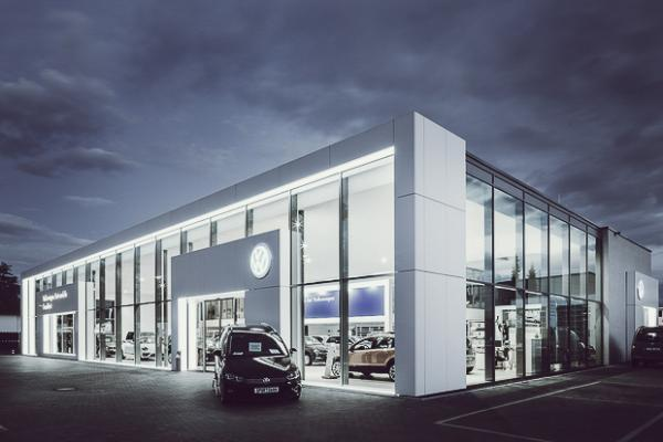 Kundenzentrum + Showroom VW, Hanau